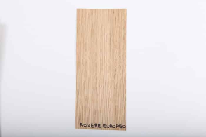 Bordo in legno rovere-europeo essenza