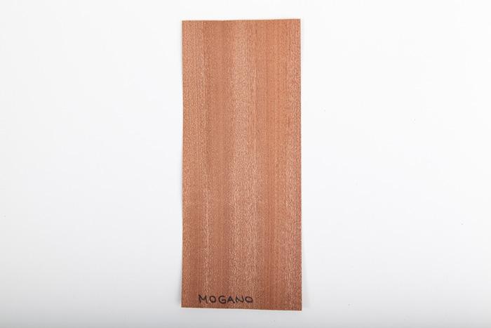 Bordo in legno mogano essenza