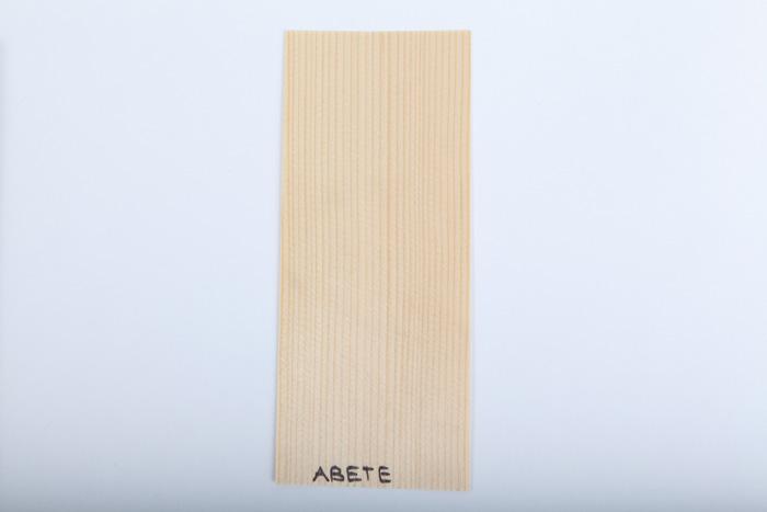 Bordo in legno abete essenza