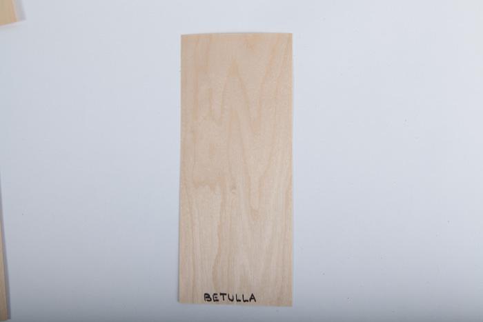 Bordo in legno betulla essenza