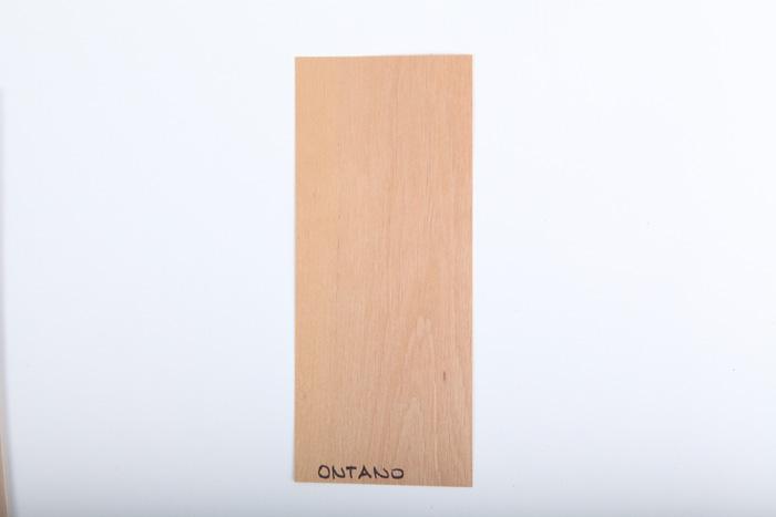 Bordo in legno ontano essenza
