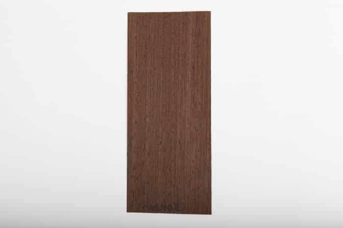 Bordo in legno wenge essenza